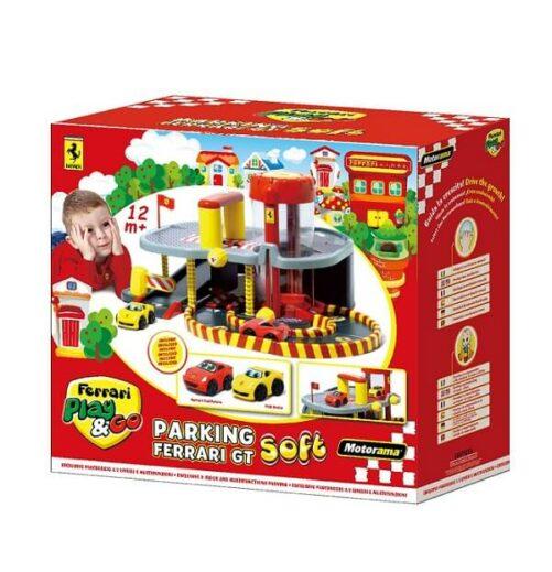 Ferrari Garage - legetøjsbiler
