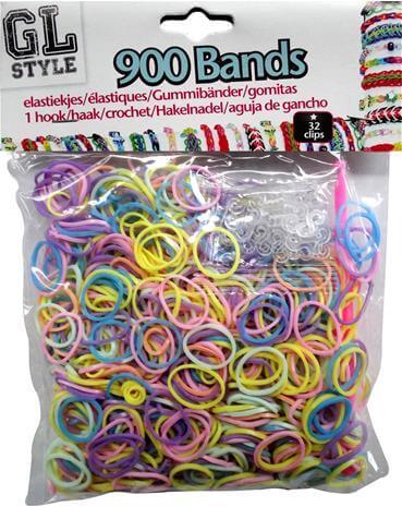 Loom Bands Blandede farver
