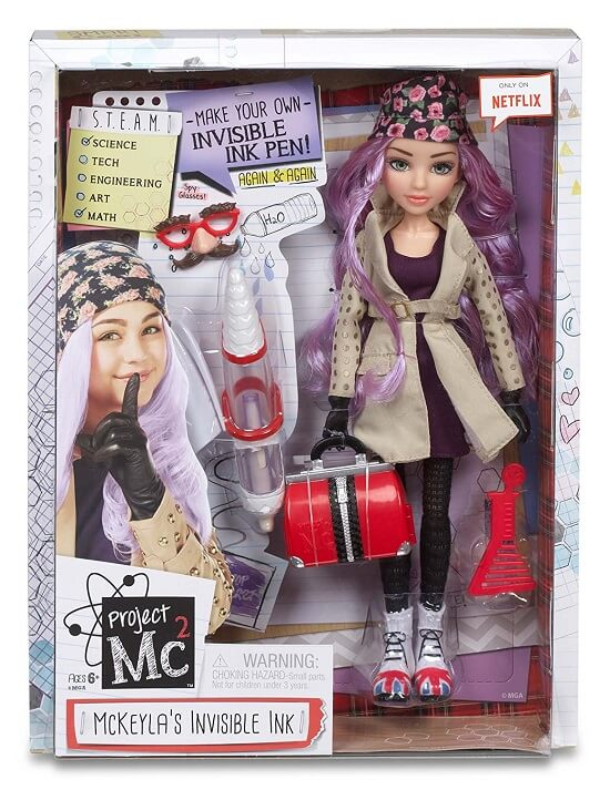 Project Mc2 Core Doll with Experiment- McKeyla's Invisible