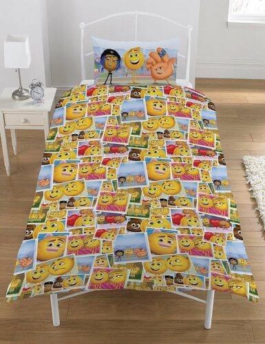 Emoji sengetøj til børn