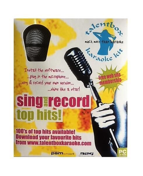 Mikrofon karaoke sæt
