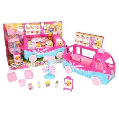 shopkins ice cream truck - bil