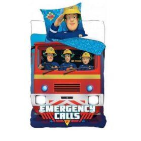 Brandmand sam sengetøj