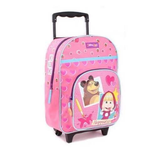 Masha og bjørn trolley kuffert