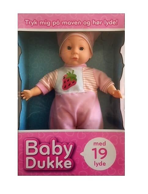 Baby Dukke med ord - lyd