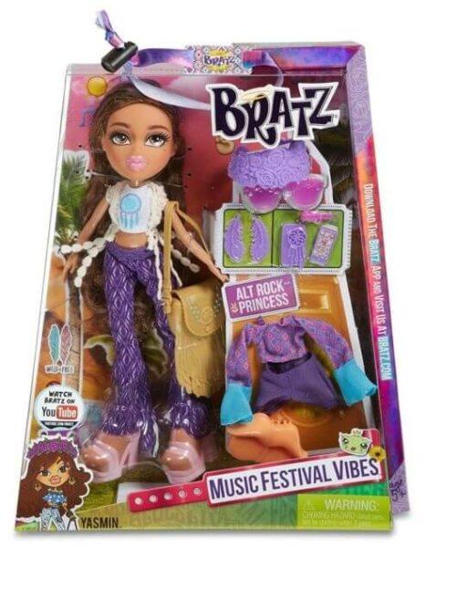 Bratz Music Festival Vibes Doll-Acoustic Yasmin