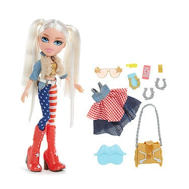 Bratz Music Festival Vibes Doll- Country Rock Cloe