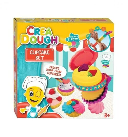 Modellervoks - cup cake sæt