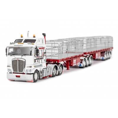 legetøjs lastbiler med reklamer