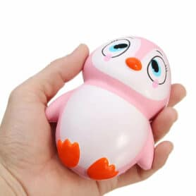 squishy pink pinguin