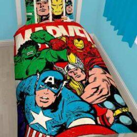 Marvel Comic sengetøj