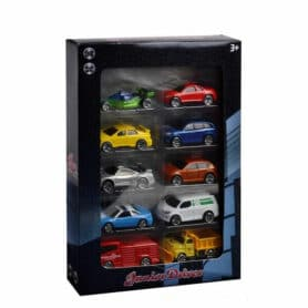 10 pak metal hot wheels biler billigt