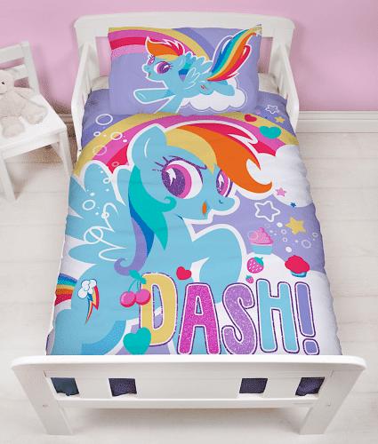 My little pony junior sengetøj - dash