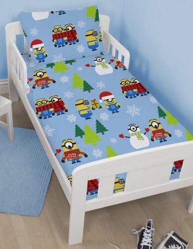 Minions junior sengetøj - jule sengetøj