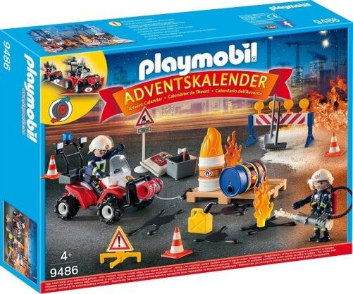 Playmobil Julekalender 2018 - Biler & Brand