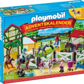 Playmobil Julekalender 2018 - Rideskole