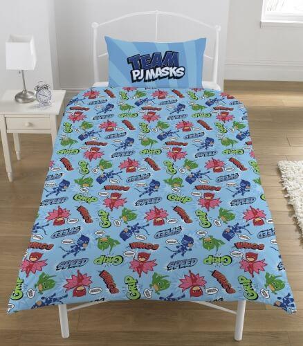 Pyjamasheltene - PJ Mask sengetøj