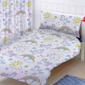 Sengetøj med enhjørning - unicorn junior sengetøj