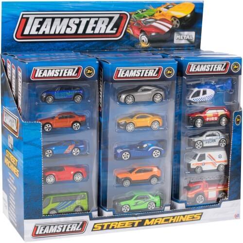 Teamster Små Legetøjsbiler