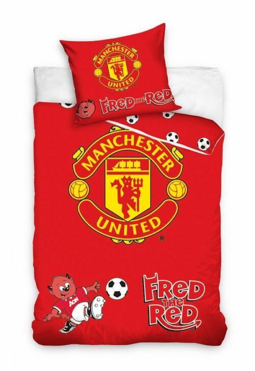 Manchester united junior sengetøj