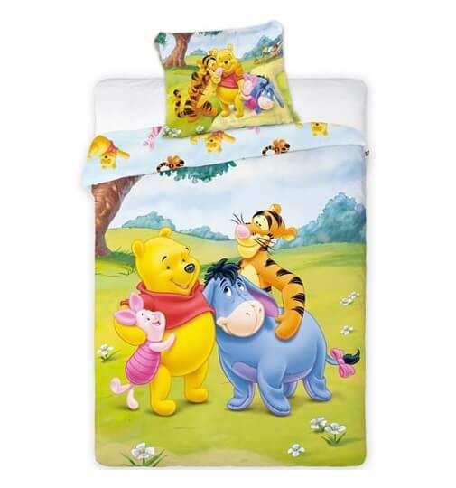 ef55e7b6d77 Peter plys junior sengetøj - peter plys sengetøj