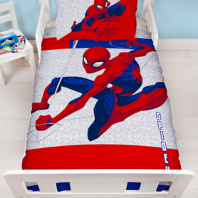 Spiderman junior sengetøj