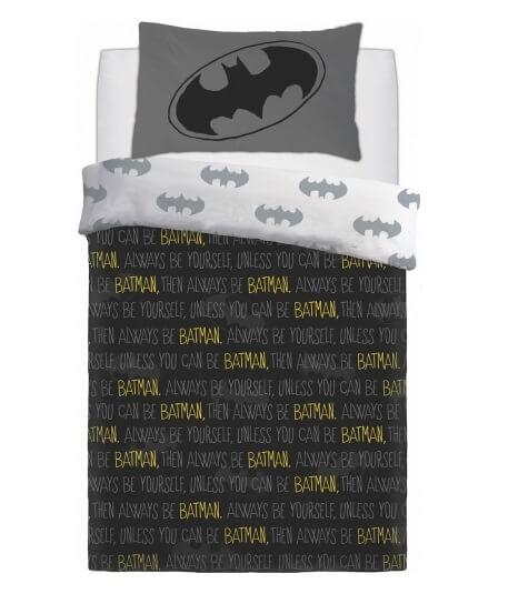 Lige ud Batman Sengetøj - BabyKidz KR54