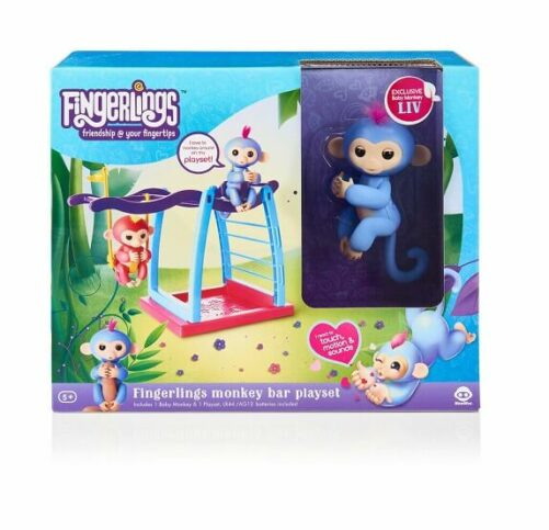 Fingerlings Playset med Abe - Liv