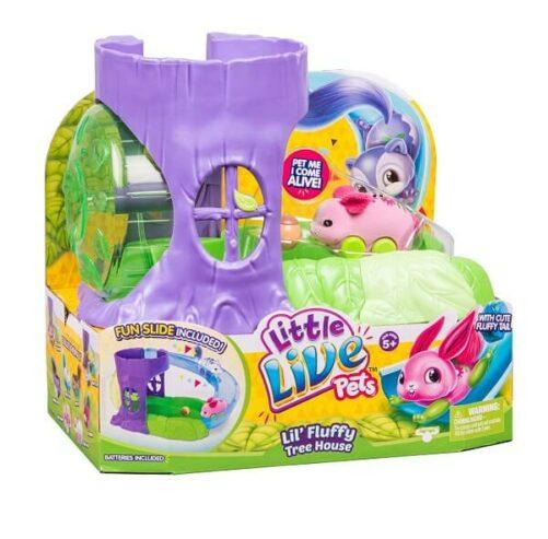 Littel Live Pets - Lil Fluffy tree house