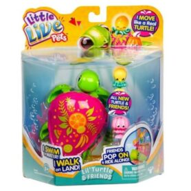 Little Live Pets Lil Turtle - Skildpadde S6-2