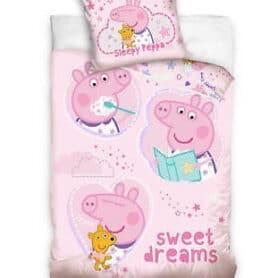 Gurli Gris junior sengetøj - Peppa Pig