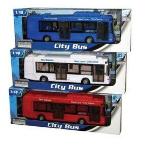 Legetøjs bus