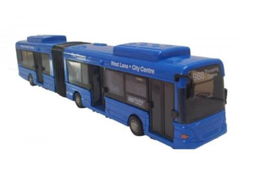 Legetøjs bus blå