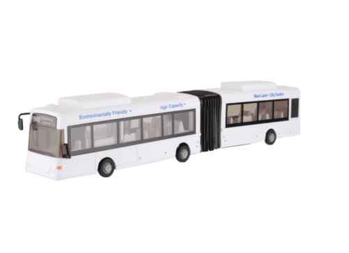 Legetøjs bus hvid