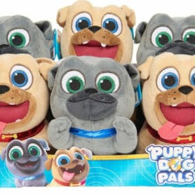 Poppy dog pals bean plush