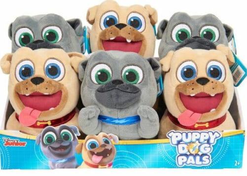 Poppy dog pals bean plush