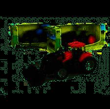 Traktor med Frontgrab