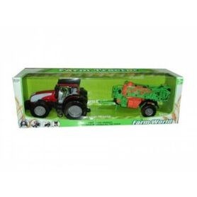 Traktor med marksprøjte