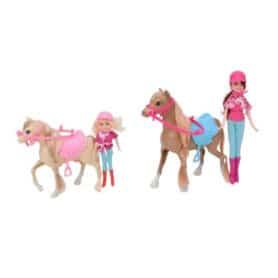 Dukker hest + pony