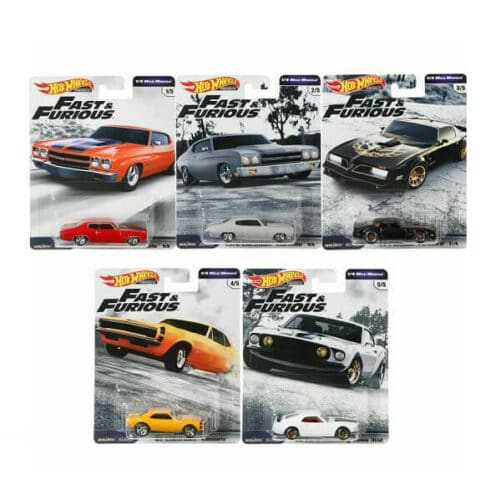 Fast and Furious cars - hot wheels