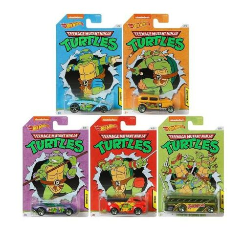 Hot Wheels Ninja Turtles