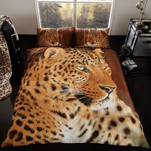 Leopard sengetøj