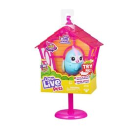 Little Live Pets Fugl i Bur - Rainbow Tweets
