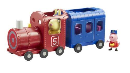 Gurli Gris tog med vogn og figurer 2
