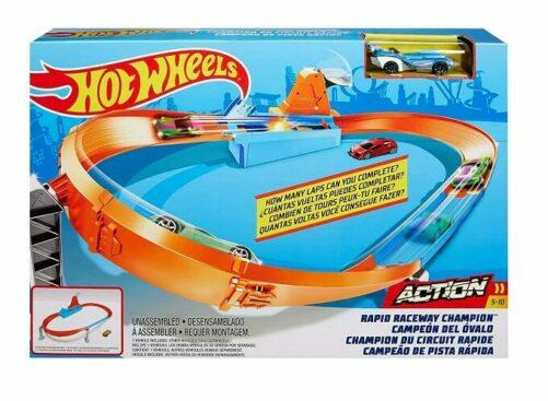 Hot Wheels Racerbane sæt