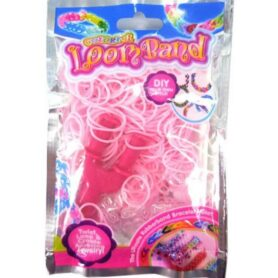 pink loom bands