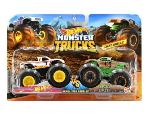 Hot Wheels Monster Trucks Double Pack