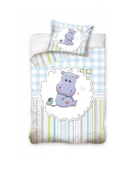 Sengetøj - Hippo Baby