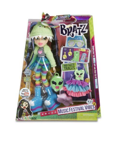 Bratz Music Festival Vibes Doll Jade