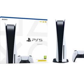 Playstation 5 med disc